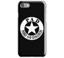 Parko And Dangerers - P.A.D iPhone Case/Skin