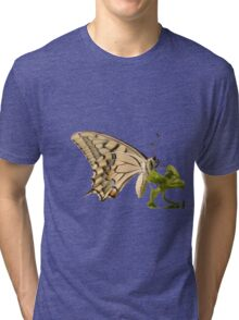 Swallowtail Butterfly Vector Isolated Tri-blend T-Shirt
