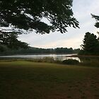 Evening at Lake Sherwood, Greenbrier County WV by fotoflossy