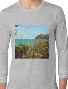 Peaceful bay view Long Sleeve T-Shirt