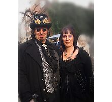 The Goth Weekend at Whitby, Oct 2011. 35 Photographic Print