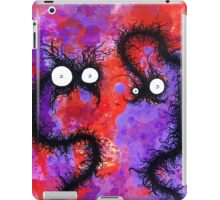 the creatures from the drain painting  28 iPad Case/Skin