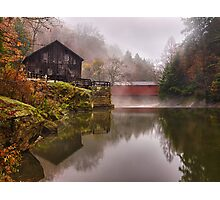 Morning At the Mill Photographic Print