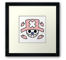 flag chopper Framed Print