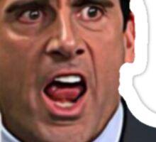 The Office - Michael Scott Face Sticker