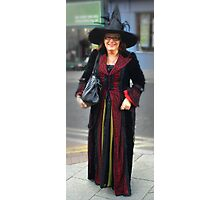 The Goth Weekend at Whitby, Oct 2011. 38 Photographic Print
