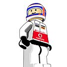 LEGO Jenson Button by Jonathan Carre