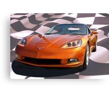 and the winner is... 2007 Corvette!  Canvas Print