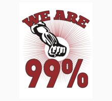 Occupy Wall Street we are 99 percent by patrimonio