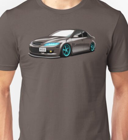 Mazda Speed 6 (MS6) Unisex T-Shirt