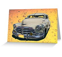 Circa 1948 Chevy Coupe Classic Greeting Card