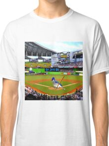 GO JAYS GO BLUEJAY BASEBALL APPAREL-PILLOW-JOURNAL-TOTE BAG-SCARF-PICTURE-ECT.. Classic T-Shirt