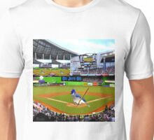 GO JAYS GO BLUEJAY BASEBALL APPAREL-PILLOW-JOURNAL-TOTE BAG-SCARF-PICTURE-ECT.. Unisex T-Shirt