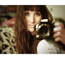 Jen's new Profile Pic Photographic Print