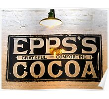 Epps's Cocoa Poster