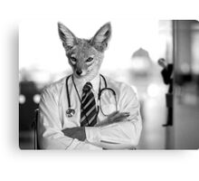 Dr. Jackal & Mr. Hide Canvas Print