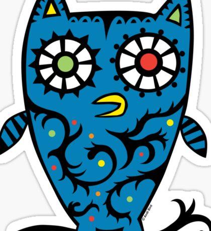 Tattoo Owl Sticker