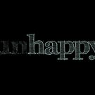 Happy Unhappy Motivational Quote by surgedesigns