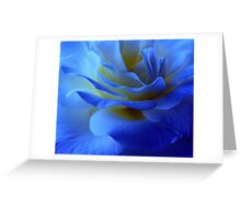 BLUE MYSTERY ROSE Greeting Card