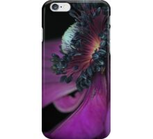 An Anemone close-up iPhone Case iPhone Case/Skin
