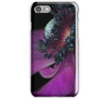 An Anemone close-up iPhone Case iPhone Case/Skin