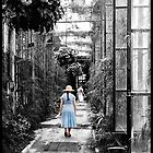 Taking a stroll in the Green House2 by Bob Culver