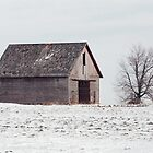 Lonely Pennsylvania barn by purplefoxphoto