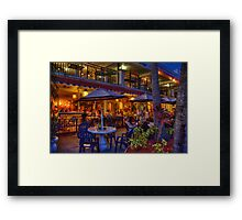 A Place to Dine  Framed Print