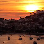 Acapulco Sunset by Stephen  Saysell