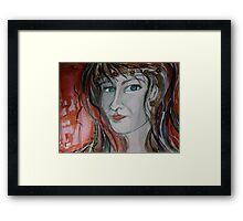 Happy Halloween to My Beautiful RedBubble Friends Framed Print