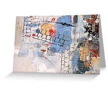 Breaking Down Walls Greeting Card