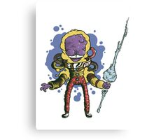 Invader Forehead Canvas Print