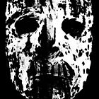Solemn Mask iPhone Case by peabody00