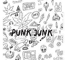 Punk Junk Photographic Print