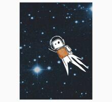 Shiny Metal Thing - Spaceman - Orange Kids Clothes