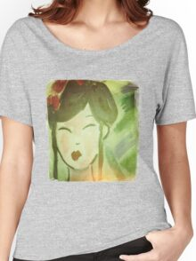 Vintage Style Geisha Women's Relaxed Fit T-Shirt