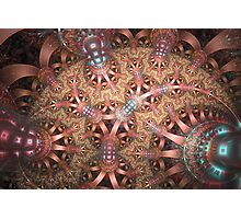 Spherical Lace Photographic Print