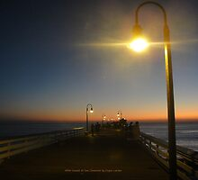 After Sunset at San Clemente by Ergun Larsen