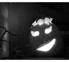 Jack-o-Lantern Photographic Print