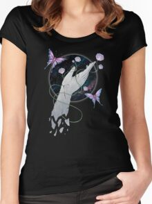 Stoned In The Garden Women's Fitted Scoop T-Shirt