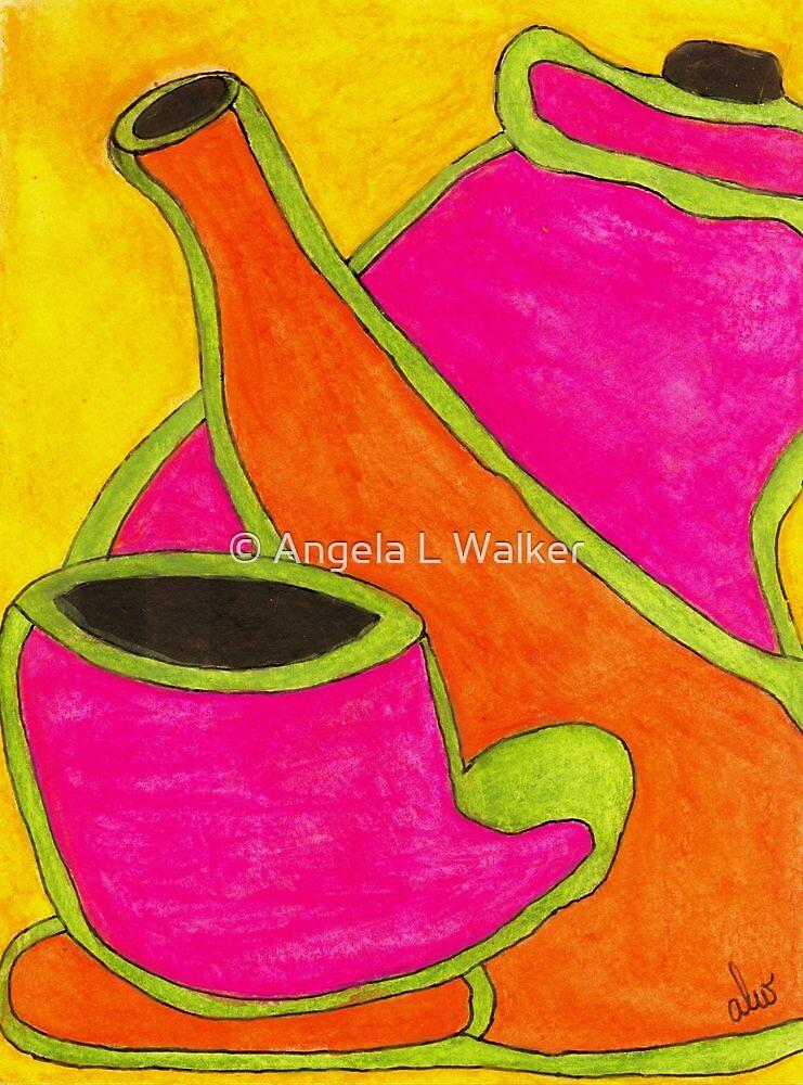 Hot Tea... Cold Juice by © Angela L Walker