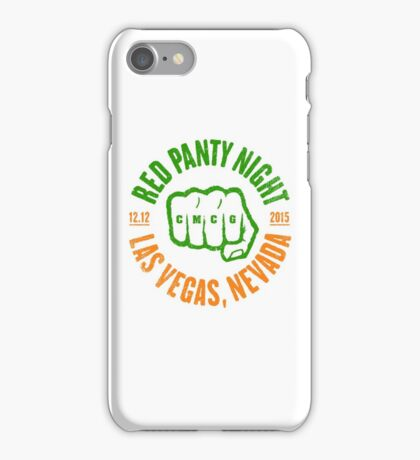 Conor McGregor - Red Panty Tricolour iPhone Case/Skin
