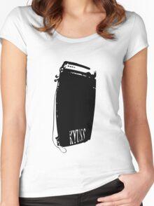 kyuss amp Women's Fitted Scoop T-Shirt