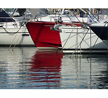 Boats in the marina of St-Jean Cap Ferrat Photographic Print