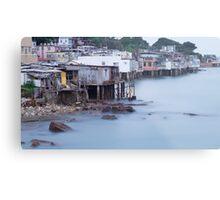 seaside village  Metal Print