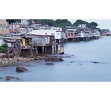 seaside village  Photographic Print