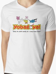 Yobagoya! Mens V-Neck T-Shirt