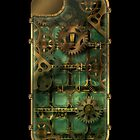 Steampunk iPhone4  Case  by murals2go