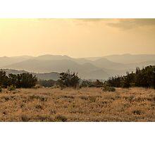 Dusty Sunset over Amata hills Photographic Print