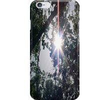 Sun Through Trees... iPhone Case/Skin